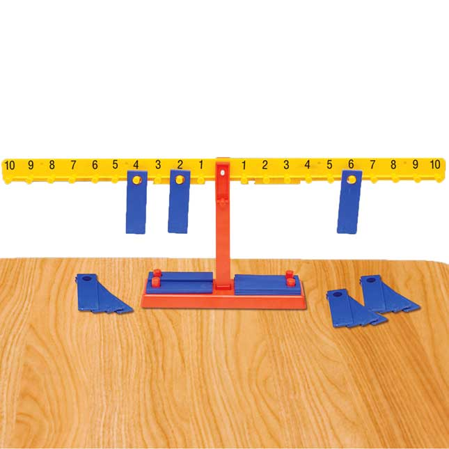 Number Balance Scale - 1 scale, 20 weights
