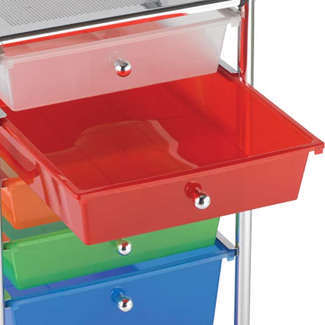 20-Drawer Rolling Organizer