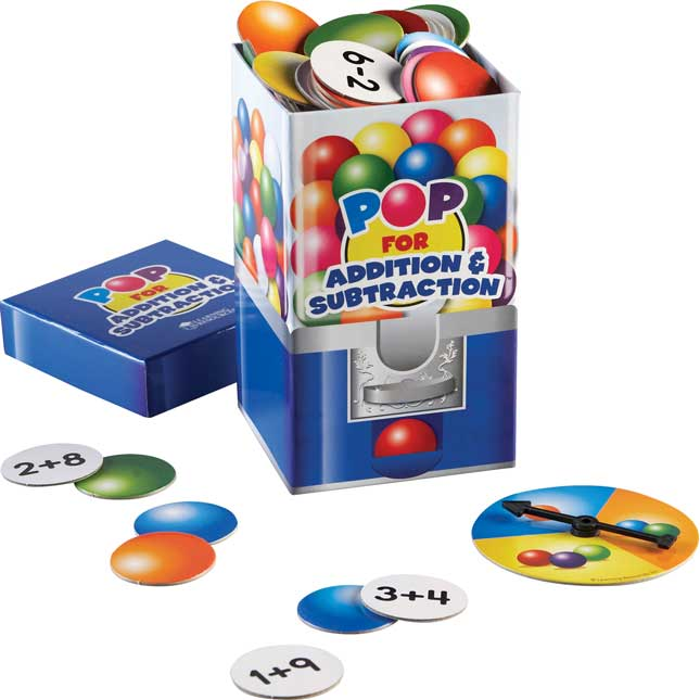 Pop For Addition And Subtraction™ Game - 1 game