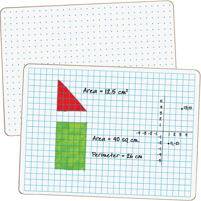 Math Dry Erase Board Kit