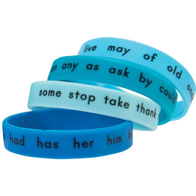 Sight Word Bracelets - First Grade