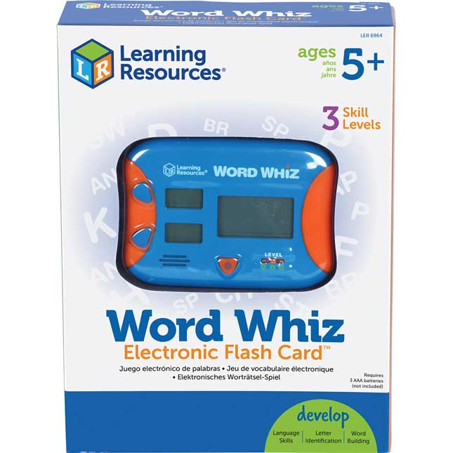 Word Whiz Electronic Flash Card™