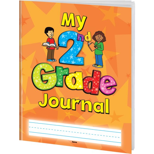 Softcover My Second Grade Journals - 12 Pack