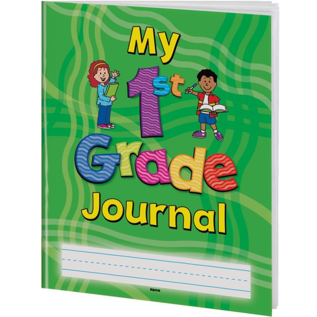 Softcover My First Grade Journals - 12 Pack