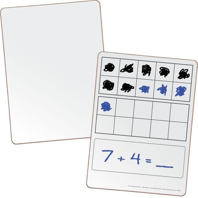 Double Ten-Frame Dry Erase Board Set