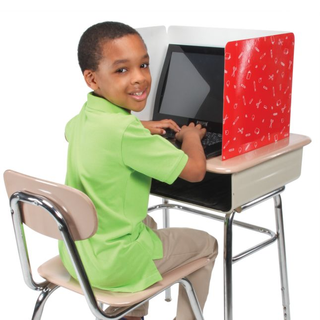 Standard Privacy Shields - Set of 12 - 3 Group Colors - Glossy