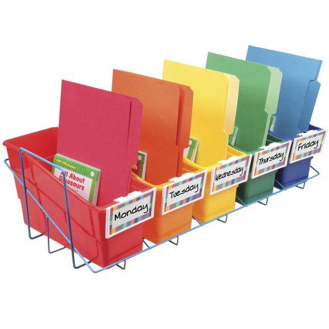 Store More® Book And Binder Holder 5-Bin Rack - 1 rack