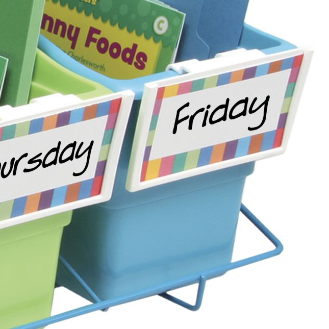 Store More® Book And Binder Holder 5-Bin Rack
