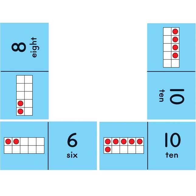 Really Good Ten-Frame Dominoes