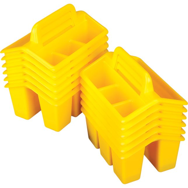 Four-Compartment Caddies - 12 Pack