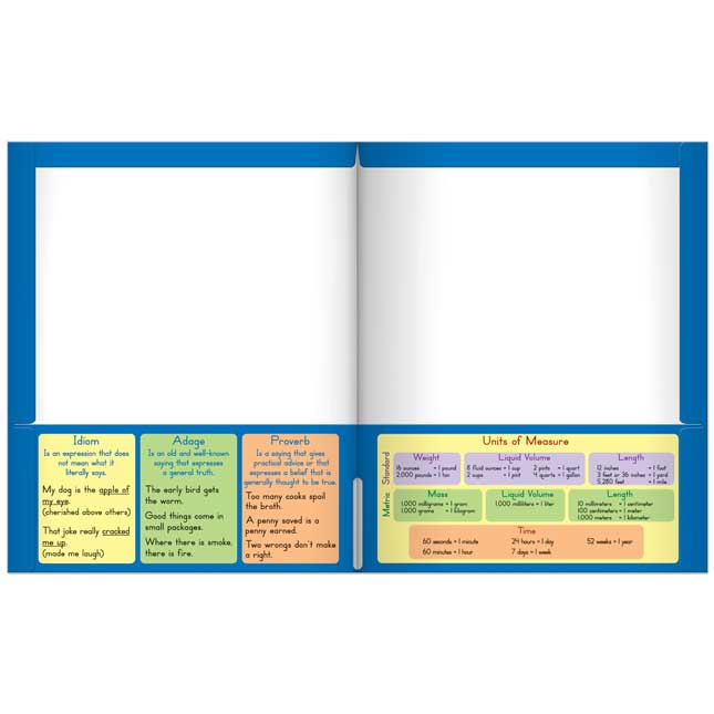 Common Core Resource Folders - Fourth Grade - 12 folders