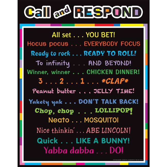 Call And Respond Poster