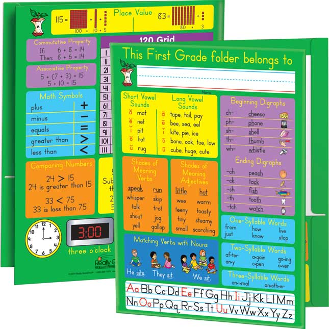 Common Core Resource Folders - First Grade - 12 Pack