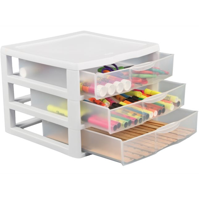 3-Drawer Storage Unit