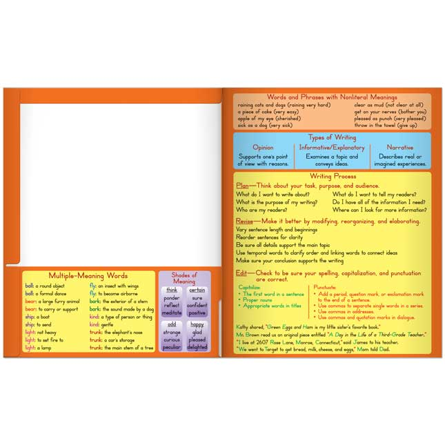 Common Core Resource Folders - Third Grade - 12 pack