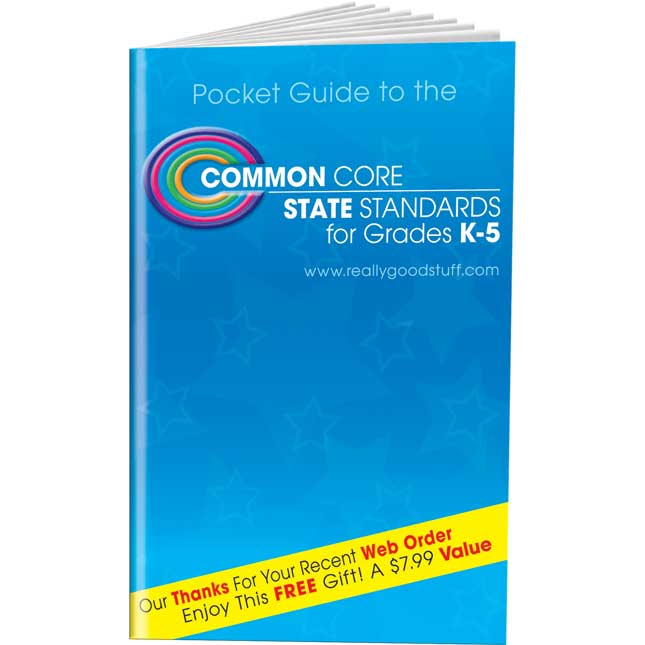 Pocket Guide To The Common Core State Standards, K-5