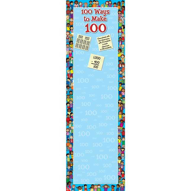 100 Ways To Make 100 Anchor Chart - Bilingual - 1 banner