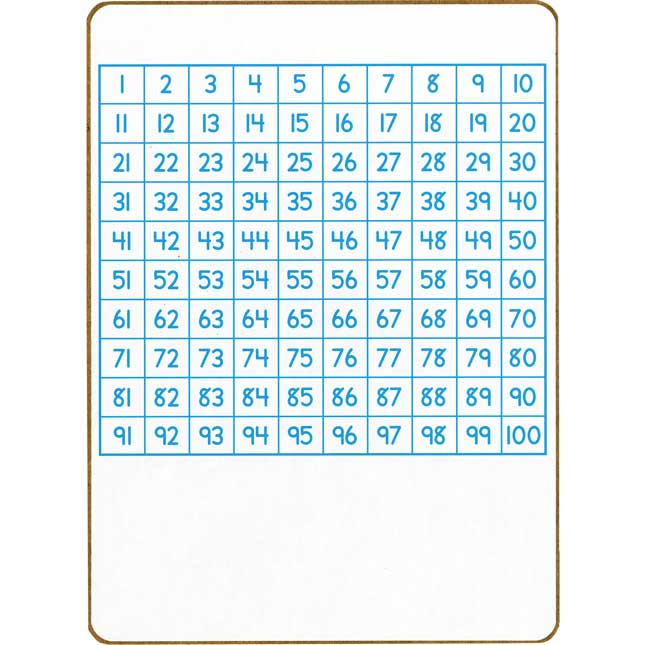 100 Grid Two-Sided Dry Erase Boards - 6 boards_1