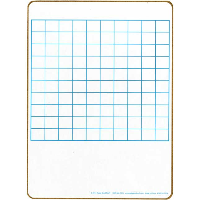100 Grid Two-Sided Dry Erase Boards - 6 boards_2