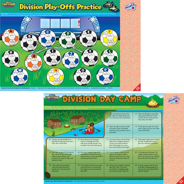 Skill Stretchers With Decoders™ Kit: Grade 3 Math - Set 2
