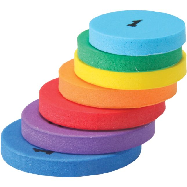 Place Value Foam Tokens - 350 tokens