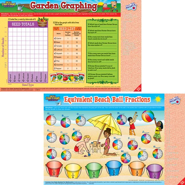Skill Stretchers With Decoders™ Kit: Grade 3 Math - Set 1