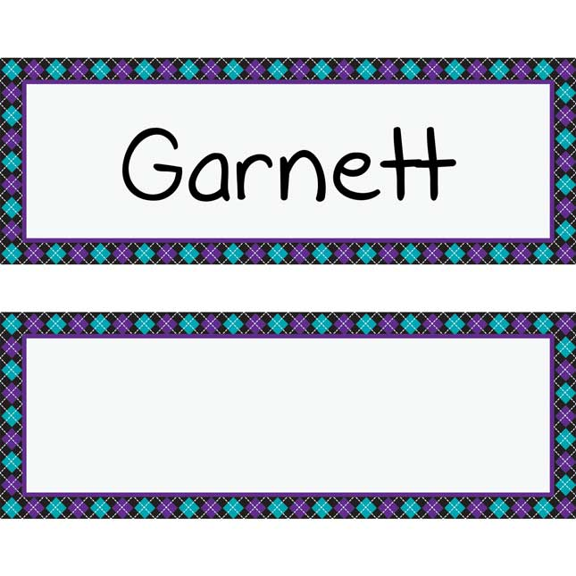 Classic Chair Pocket Name Tag Refills - 6 Pack - Student Book Collection