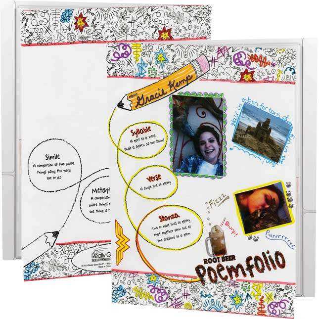 Ready-To-Decorate® Poemfolios - 12 folders