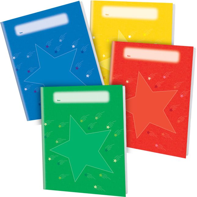 Group Color Journals 4 Color - 12 Pack