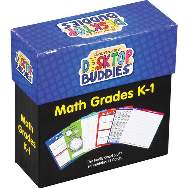 Desktop Buddies™ With Sleeves - Math Grades K-1
