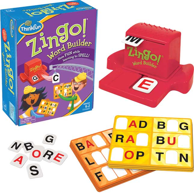 Zingo!® Word Builder Game