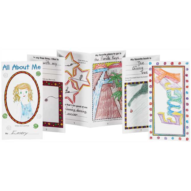 Ready-To-Decorate® All About Me Fold-A-Book Set