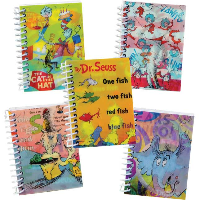 Dr. Seuss™ Hologram Notebooks