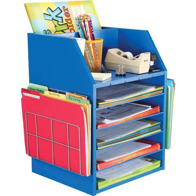 Really Good Teacher's Desktop Organizer™ With Paper Holders