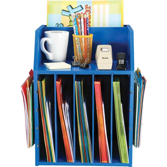 Really Good Teacher's Desktop Organizer™ With Paper Holders