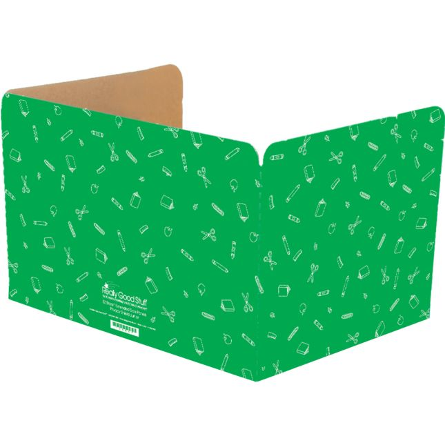 Large Privacy Shields - Set of 12 - Green - Matte