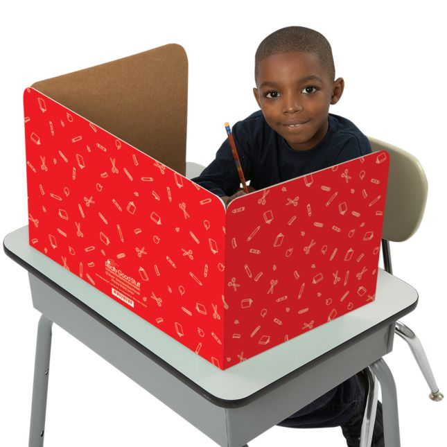 Standard Privacy Shields - Set of 12 - Red - Matte