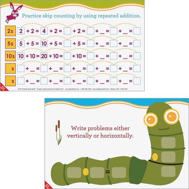Astute Hoot™ Math Problem-Solving Mats