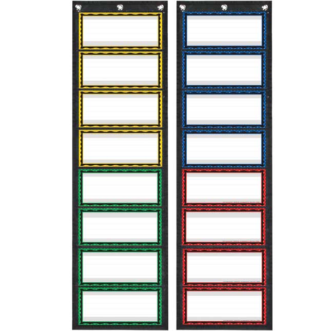 Programmable Grouping EZ-Tuck Pocket Charts™