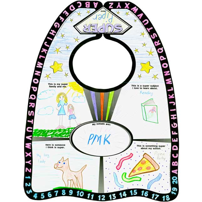 Ready-To-Decorate® All About Me Super Capes - 24 capes