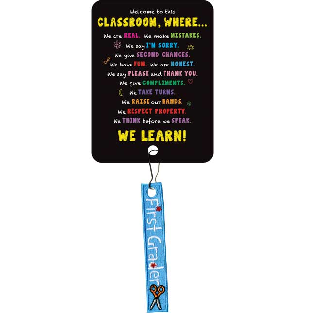 Welcome To This Classroom Zipper Pulls