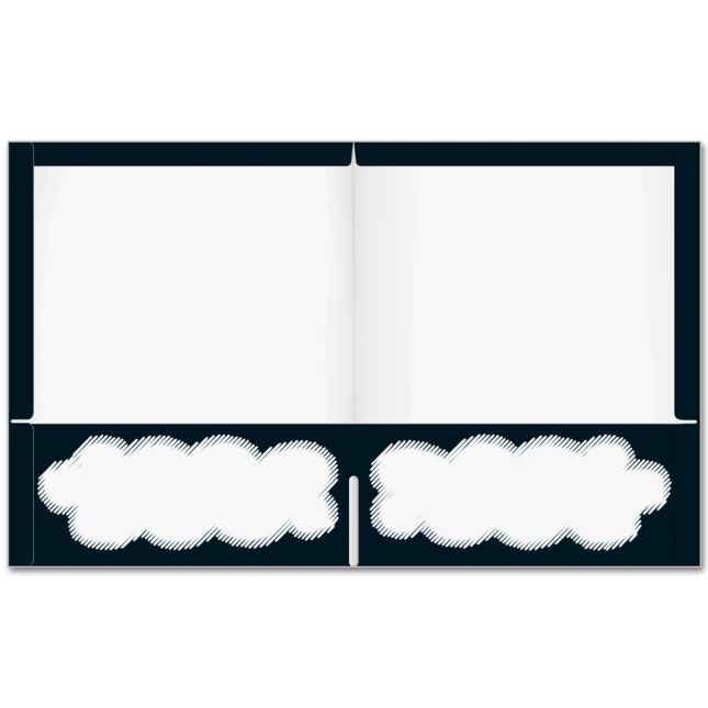 In The Classroom Inspirational Folders - 2 Pocket - 12 Pack