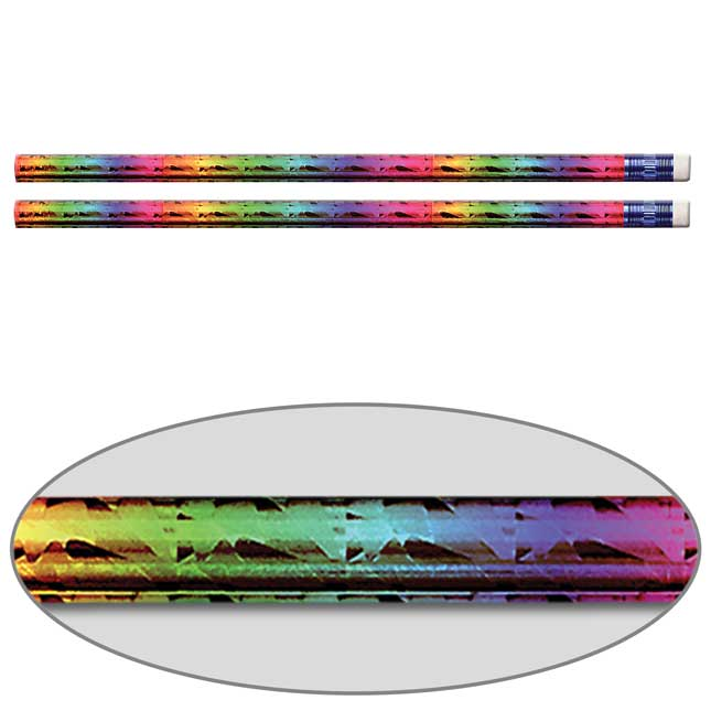 Rainbow Prism Pencils - Set Of 144