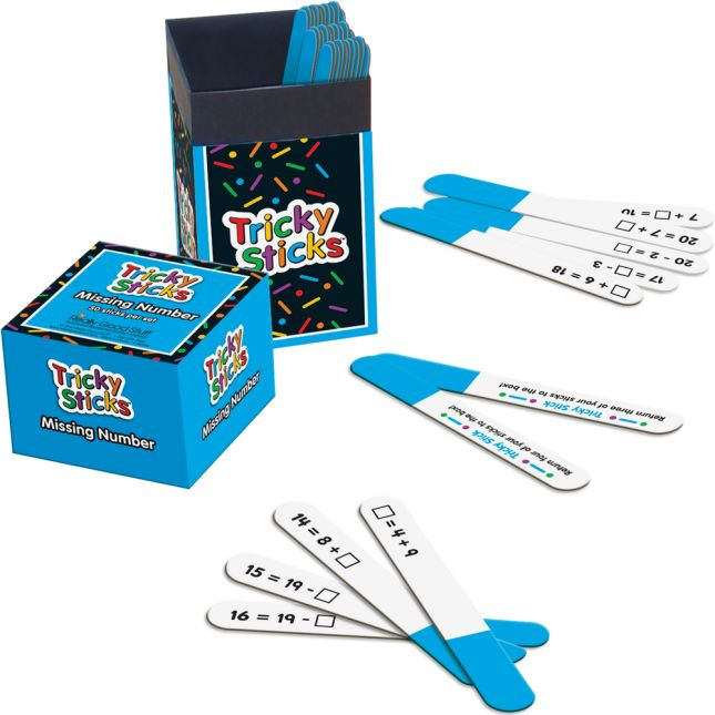 Tricky Sticks™ - Missing Number - 1 game