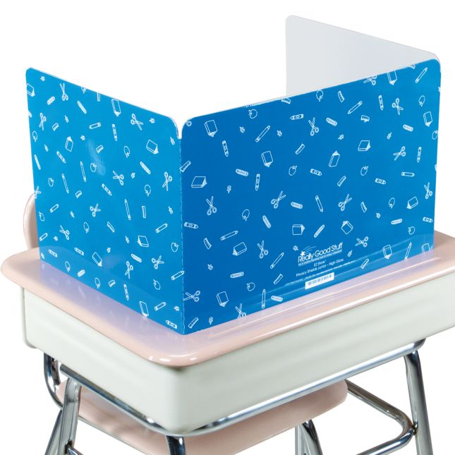 Standard Privacy Shields - Set of 12 - Blue - Glossy
