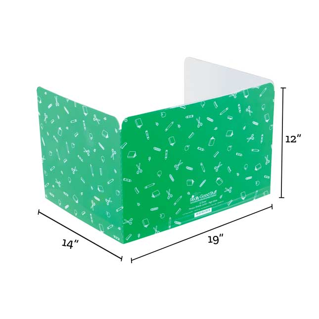 Standard Privacy Shields - Set of 12 - Green - Glossy