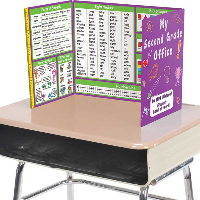 Work Office for Second Grade - Math and ELA