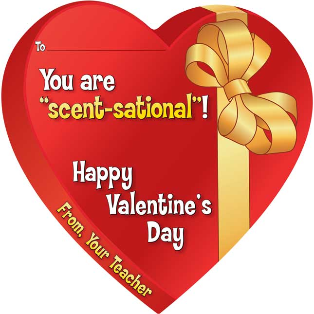 "You Are ""Scent-sational""! Valentine Cards And Pencils Kit"