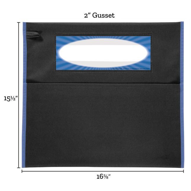 Grouping Chair Pockets - 8 Pack - 4 Group Colors - Black