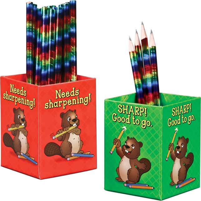 Sharp! And Needs Sharpening! Pencil Organizers